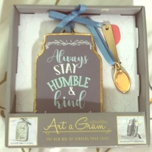 """""""Always stay humble"""" Wall Decor"""